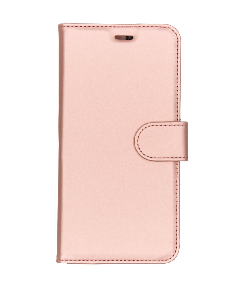 Accezz Wallet Softcase Booktype Nokia 8.1 - Rosé Goud