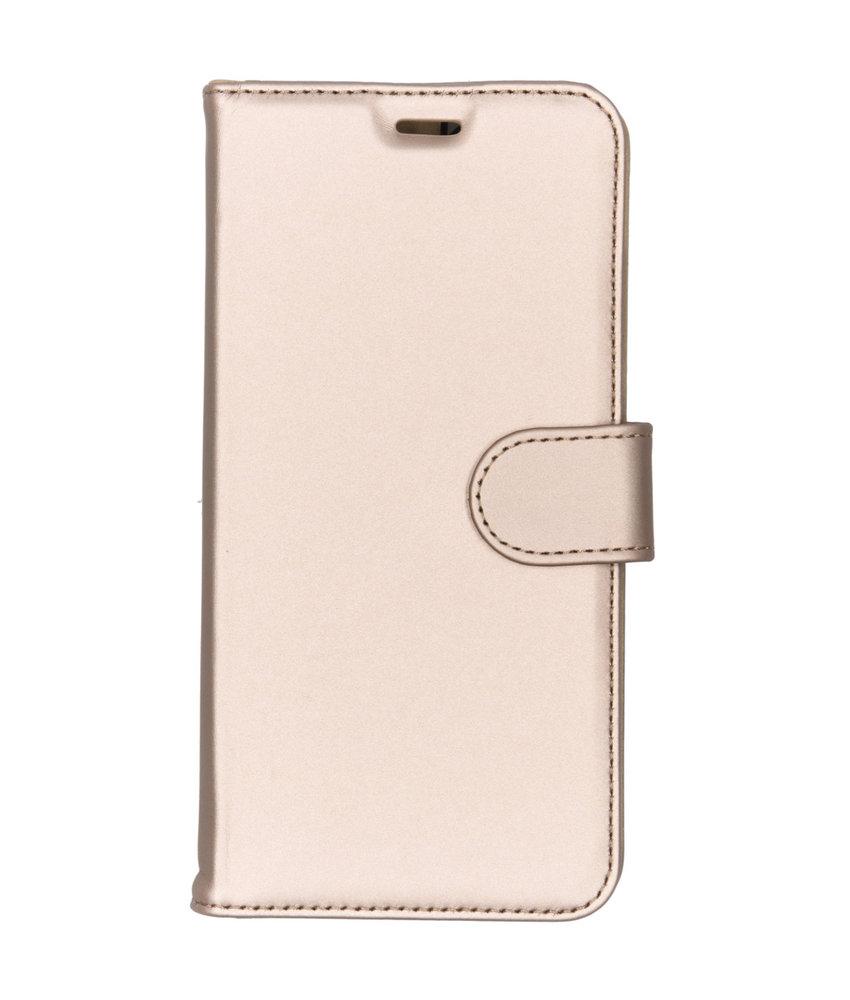 Accezz Wallet Softcase Booktype Nokia 8.1 - Goud