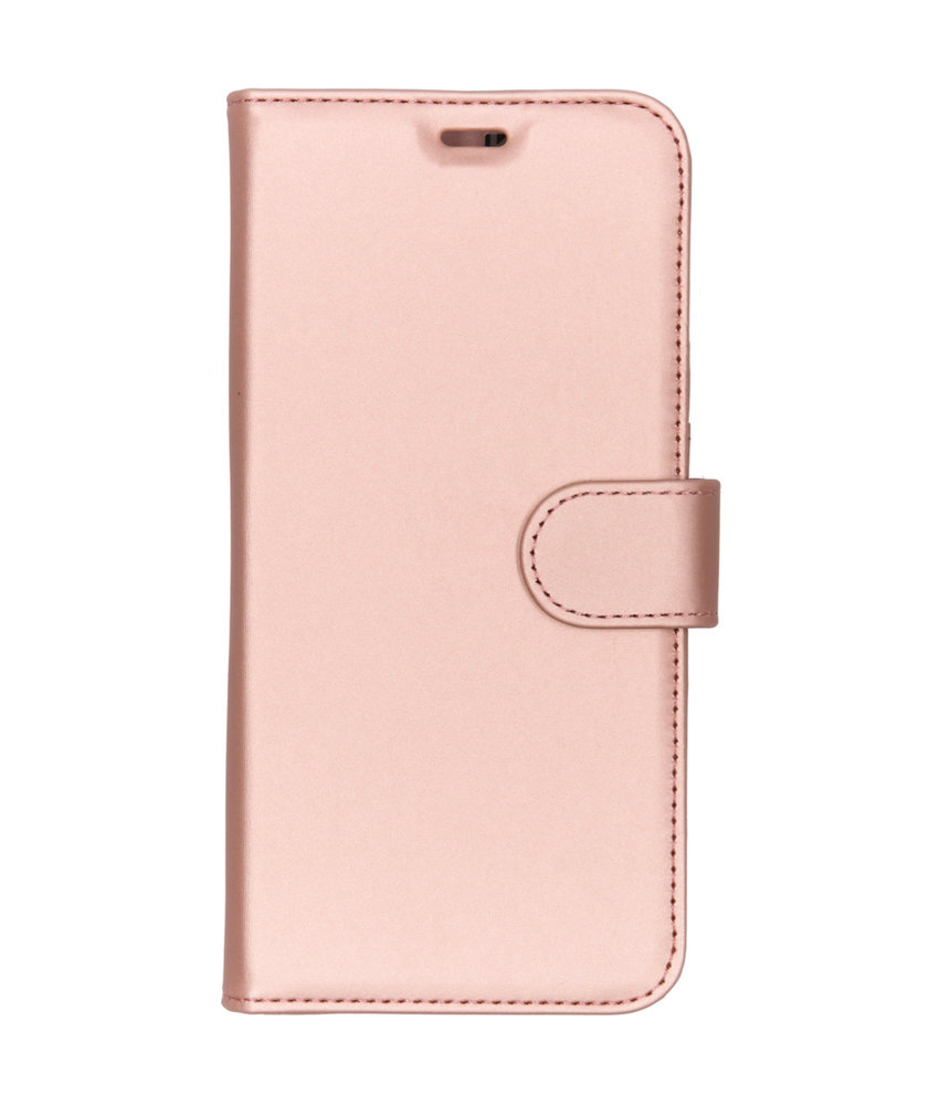 Accezz Wallet Softcase Booktype Moto G7 / G7 Plus - Rosé Goud
