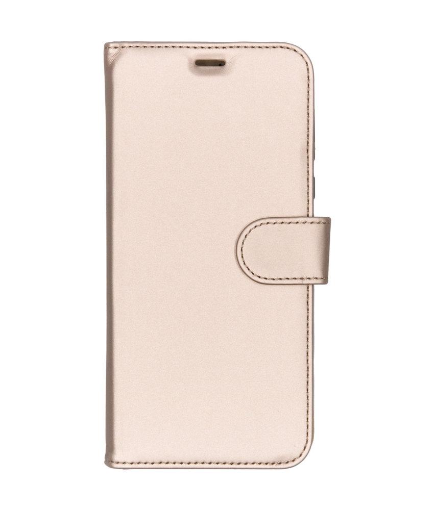 Accezz Wallet Softcase Booktype Motorola Moto G7 Power - Goud
