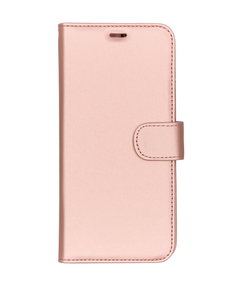 Accezz Wallet Softcase Booktype Motorola Moto G7 Power - Rosé Goud