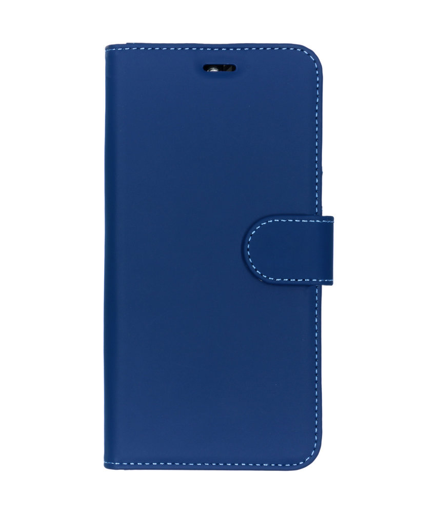 Accezz Wallet Softcase Booktype Nokia 9 PureView - Donkerblauw