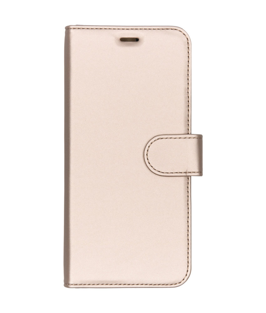 Accezz Wallet Softcase Booktype Huawei Y7 (2019) - Goud
