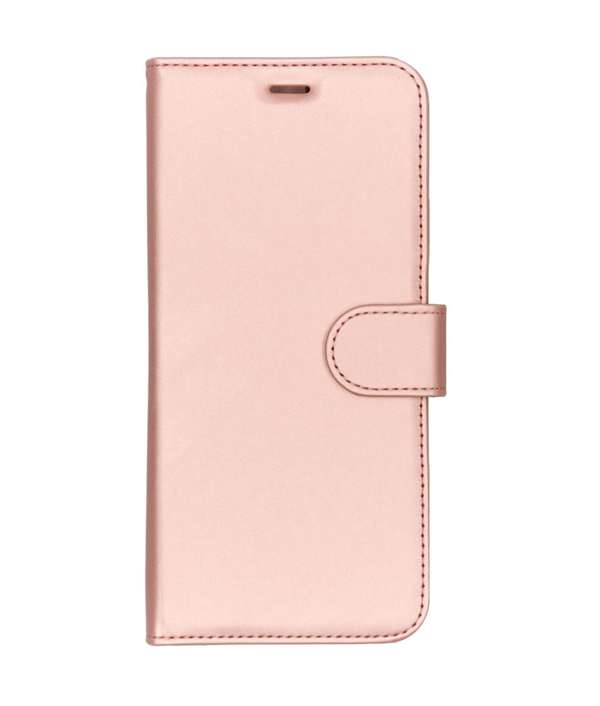 Accezz Wallet Softcase Booktype Huawei Y7 (2019) - Rosé Goud
