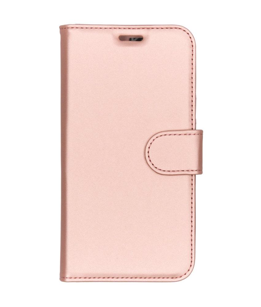 Accezz Wallet Softcase Booktype Motorola Moto G7 Play - Rosé Goud
