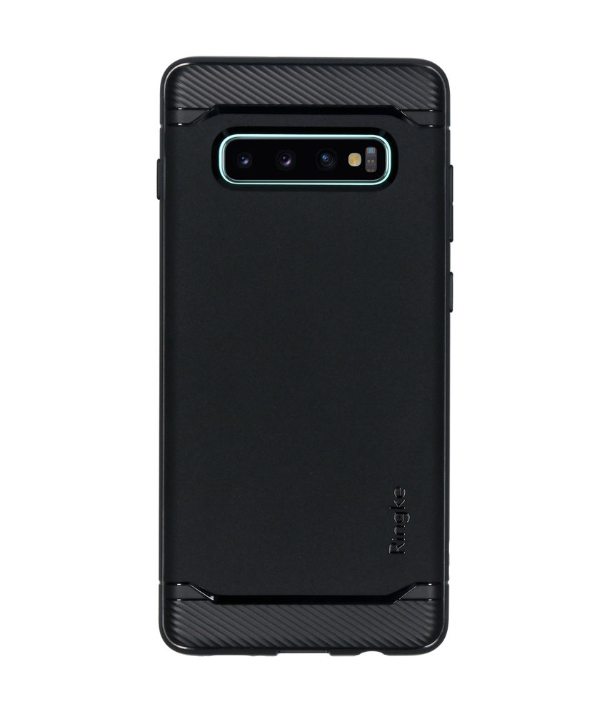 Ringke Onyx Backcover Samsung Galaxy S10 Plus - Zwart