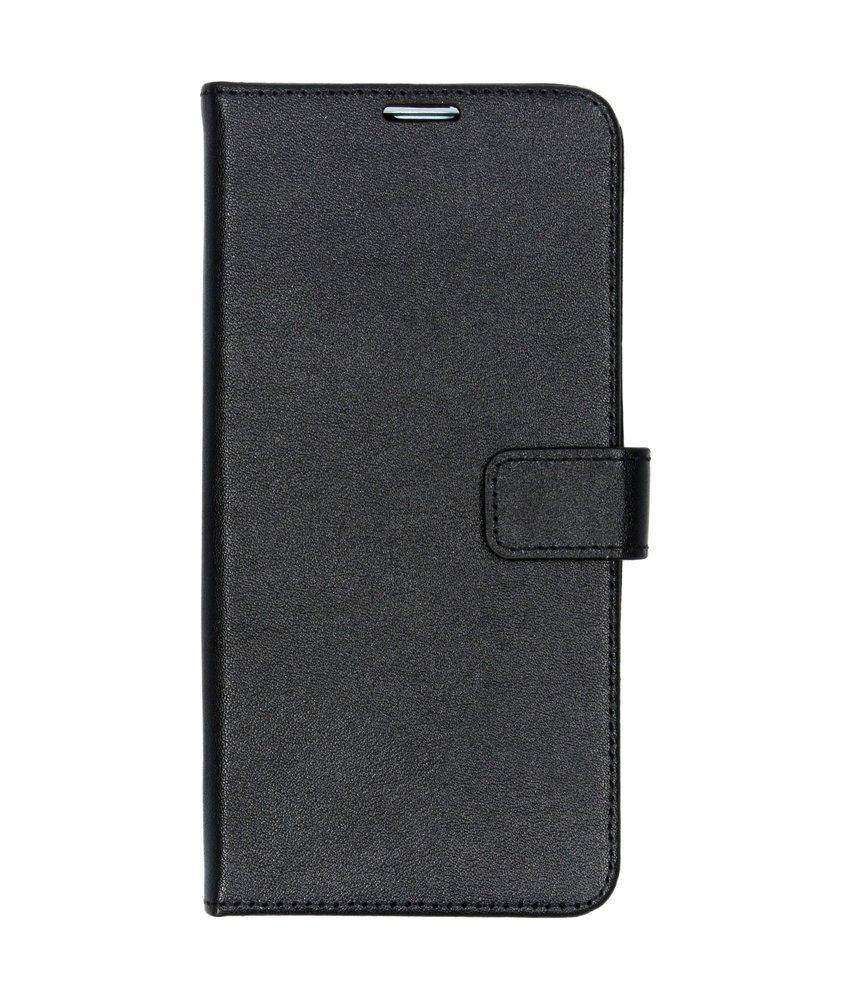 Valenta Leather Booktype Samsung Galaxy S10 Plus - Zwart