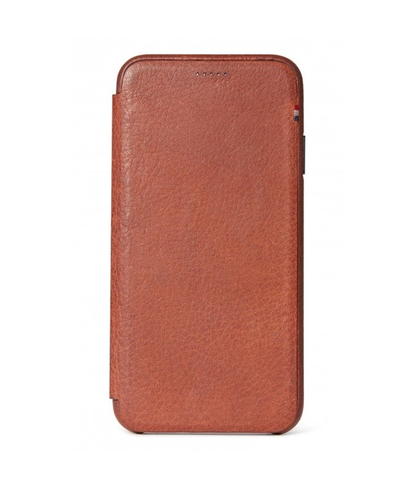 Decoded Leather Slim Wallet iPhone Xr - Bruin