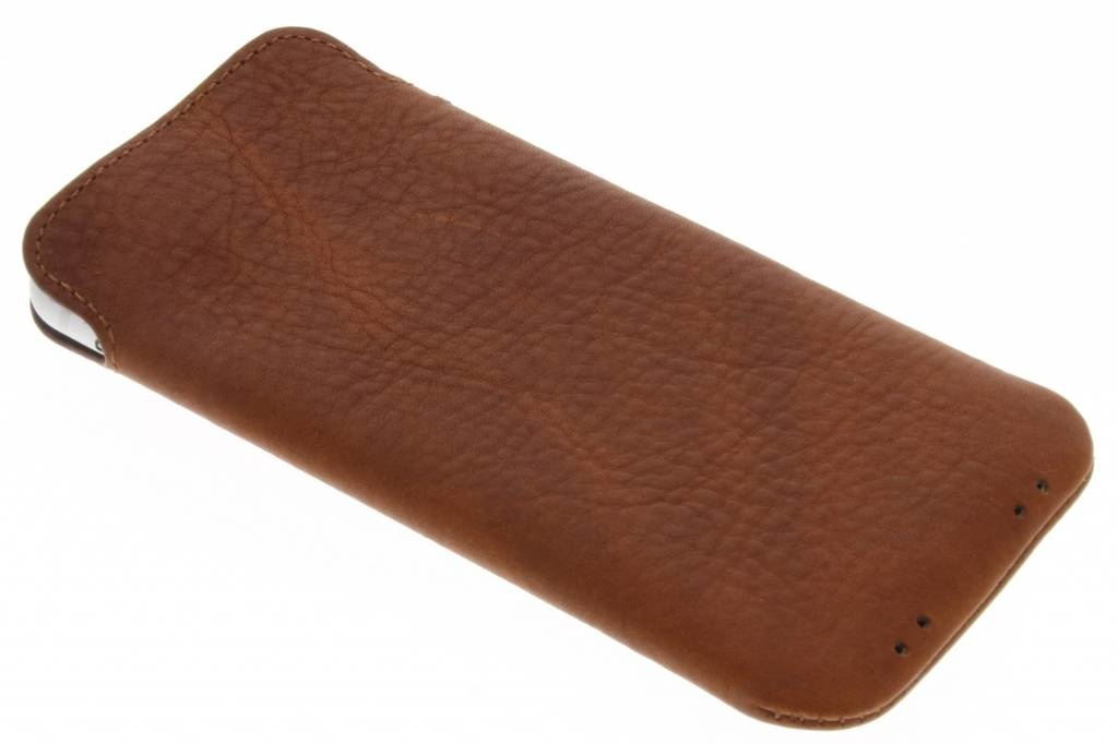 brand new b832e 65da8 Decoded Bruine Leather Pouch voor de iPhone 8 / 7 / 6(s)