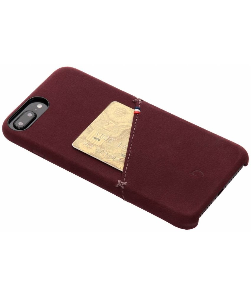 Decoded Leather Snap On Backcover iPhone 8 Plus / 7 Plus / 6(s) Plus