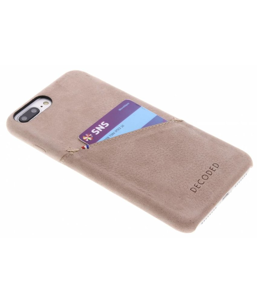 Decoded Leather Backcover iPhone 8 Plus / 7 Plus / 6(s) Plus