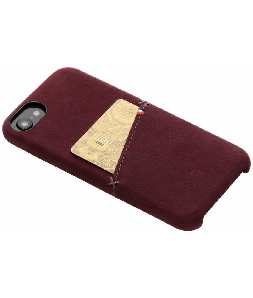 Decoded Leather Snap On Backcover iPhone 8 / 7 / 6s / 6