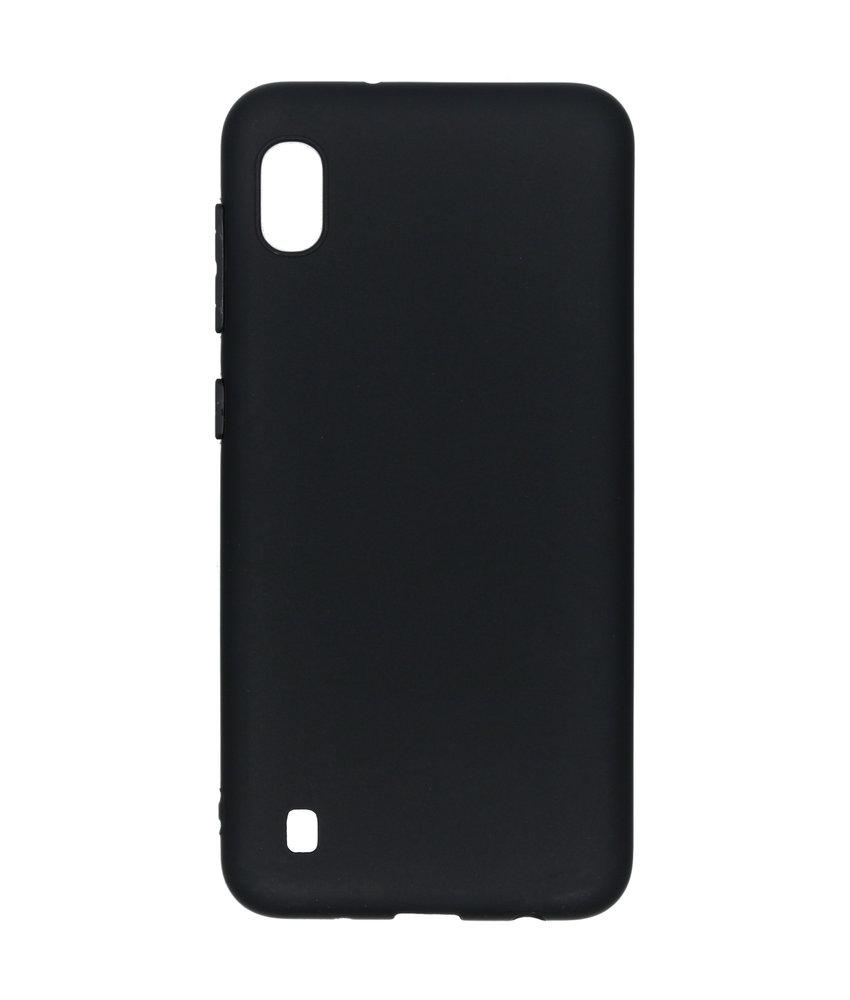 Color Backcover Samsung Galaxy A10 - Zwart