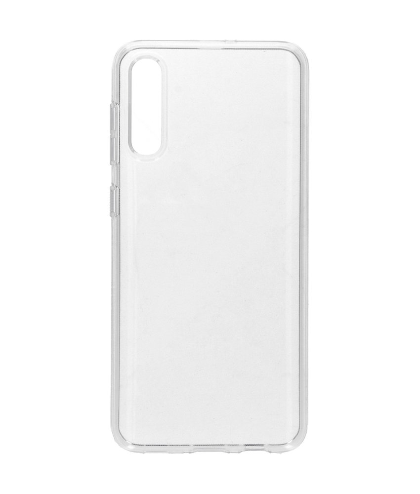 Spigen Liquid Crystal Backcover Samsung Galaxy A50 - Transparant