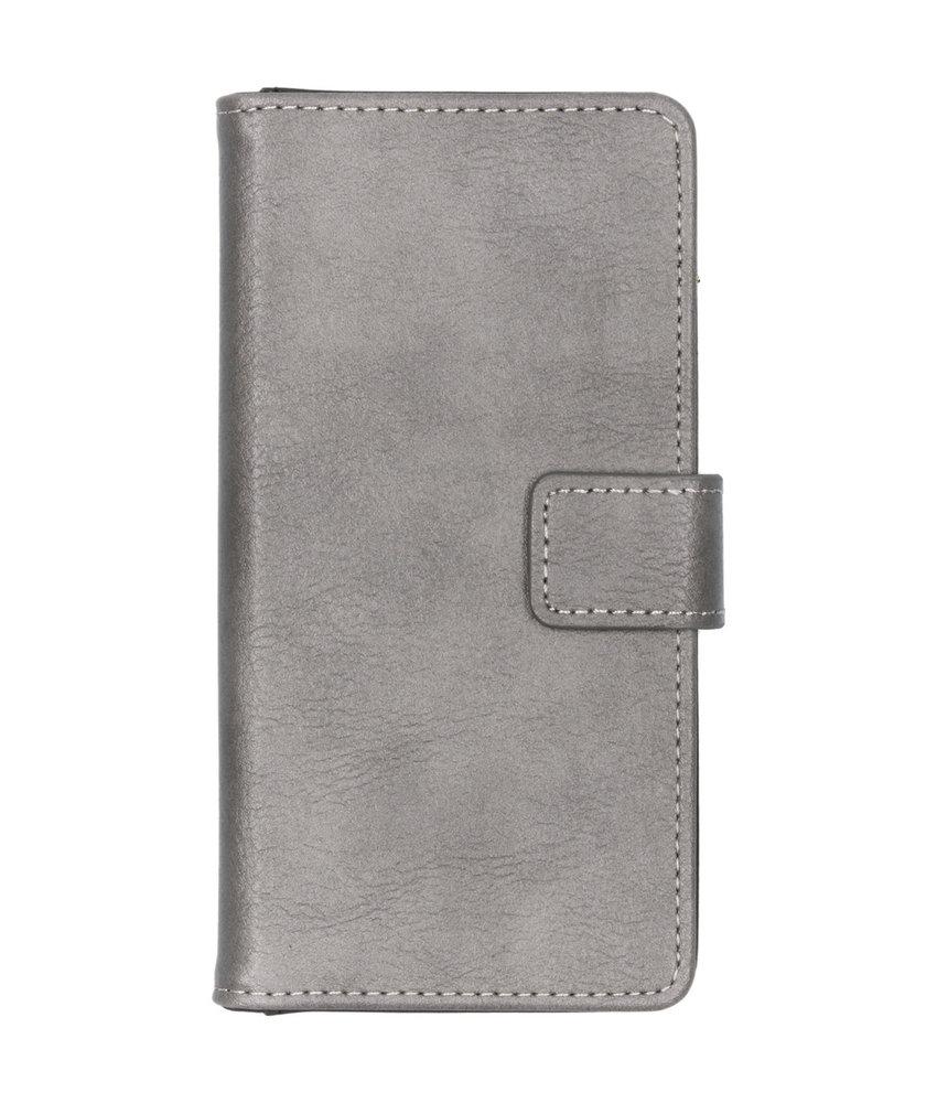 iMoshion Luxe Booktype Samsung Galaxy A40 - Grijs
