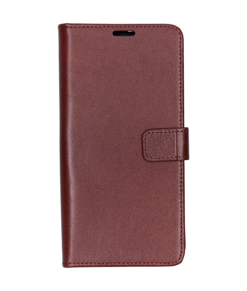 Valenta Leather Booktype Samsung Galaxy A50 - Bruin
