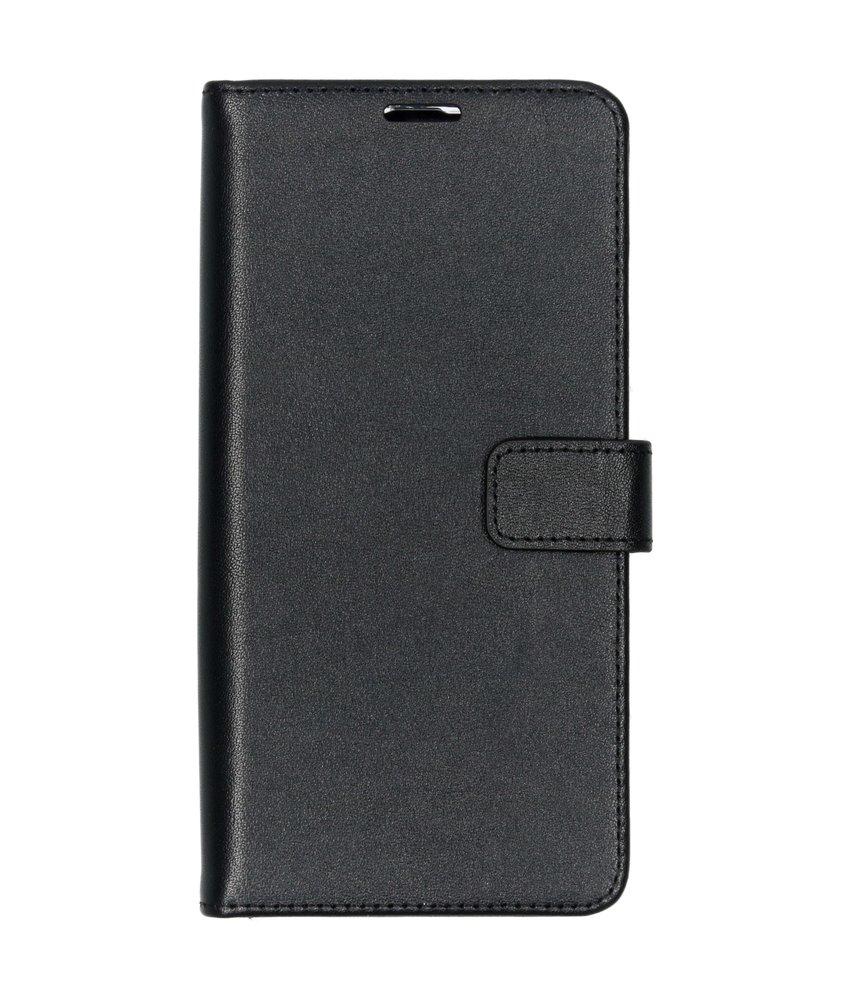 Valenta Leather Booktype Samsung Galaxy A50 / A30s - Zwart