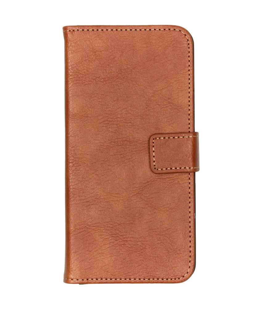 iMoshion Luxe  Booktype Samsung Galaxy A50 - Bruin
