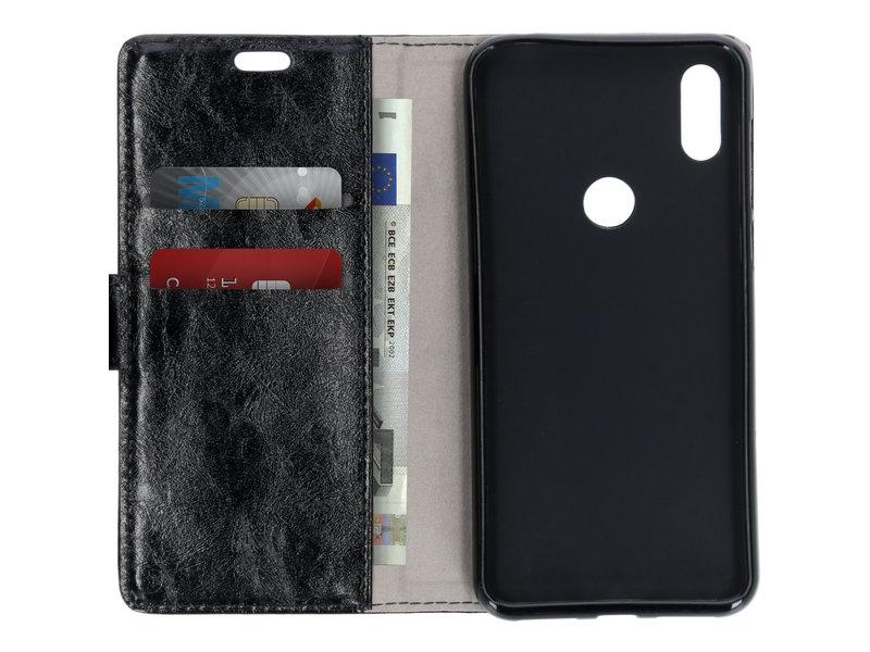 Motorola One hoesje - Zakelijke Booktype voor de