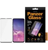 PanzerGlass Case Friendly Screenprotector voor Samsung Galaxy S10 - Zwart