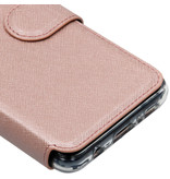 Accezz Xtreme Wallet Booktype voor de Samsung Galaxy S10e - Rosé Goud