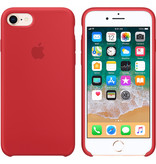 Apple Silicone Backcover voor de iPhone 8 / 7 - Red