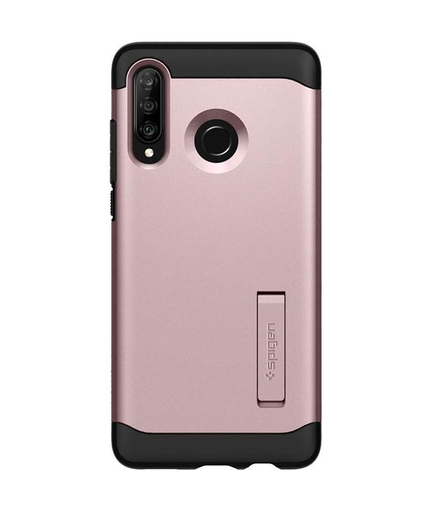 Spigen Slim Armor Backcover Huawei P30 Lite - Rosé Goud