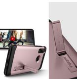 Spigen Slim Armor Backcover voor de Huawei P30 Lite - Rosé Goud