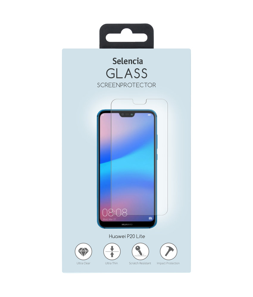 Selencia Gehard Glas Premium Screenprotector Huawei P20 Lite