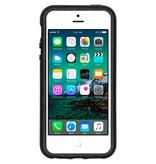 Pela Eco-Friendly Softcase Backcover voor de iPhone SE / 5 / 5s - Zwart