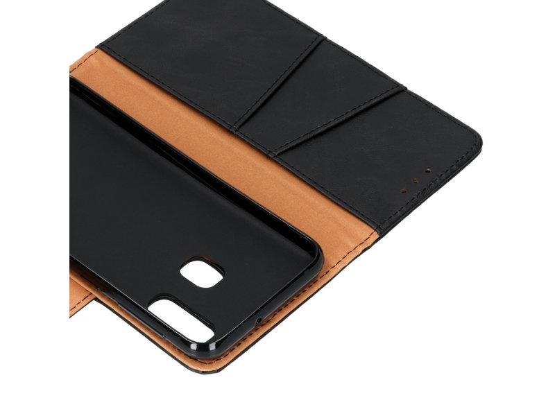 Samsung Galaxy A20e hoesje - Zakelijke Softcase Booktype voor