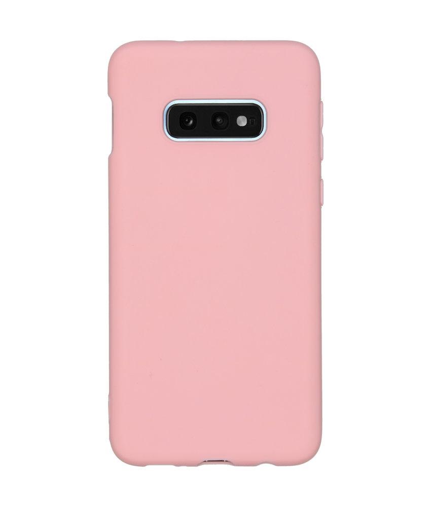 Color Backcover Samsung Galaxy S10e - Roze