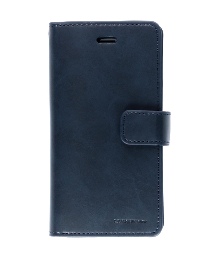 Mercury Goospery Mansoor Wallet Diary Booktype iPhone 6 / 6s - Donkerblauw