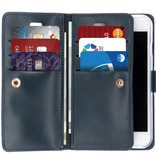 Mercury Goospery Mansoor Wallet Diary Booktype voor de iPhone 6 / 6s - Donkerblauw