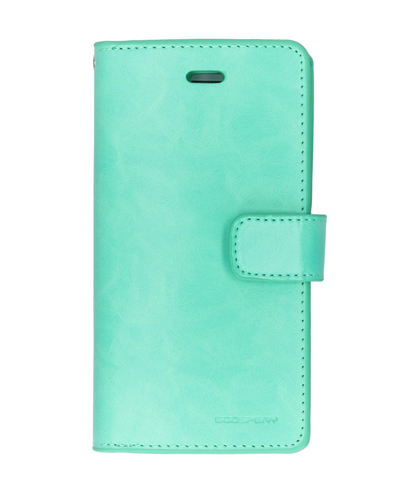 Mercury Goospery Mansoor Wallet Diary Booktype iPhone 6 / 6s - Mintgroen
