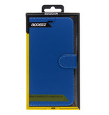 Accezz Wallet Softcase Booktype voor iPhone Xs Max - Donkerblauw