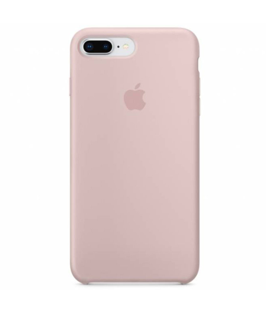 Apple Silicone Backcover iPhone 8 Plus / 7 Plus - Roze