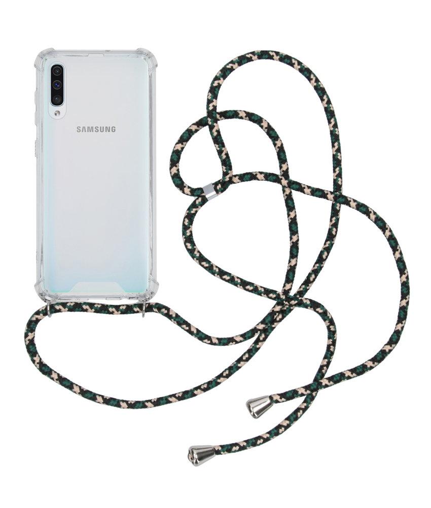 iMoshion Backcover met koord Samsung Galaxy A50 / A30s - Groen