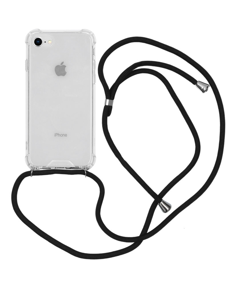 iMoshion Backcover met koord iPhone 8 / 7 - Zwart
