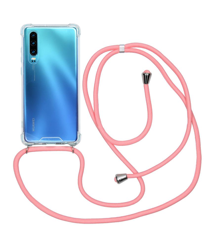 iMoshion Backcover met koord Huawei P30 - Roze