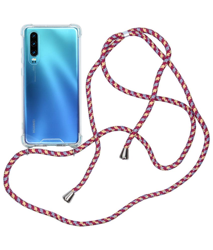 iMoshion Backcover met koord Huawei P30 - Paars