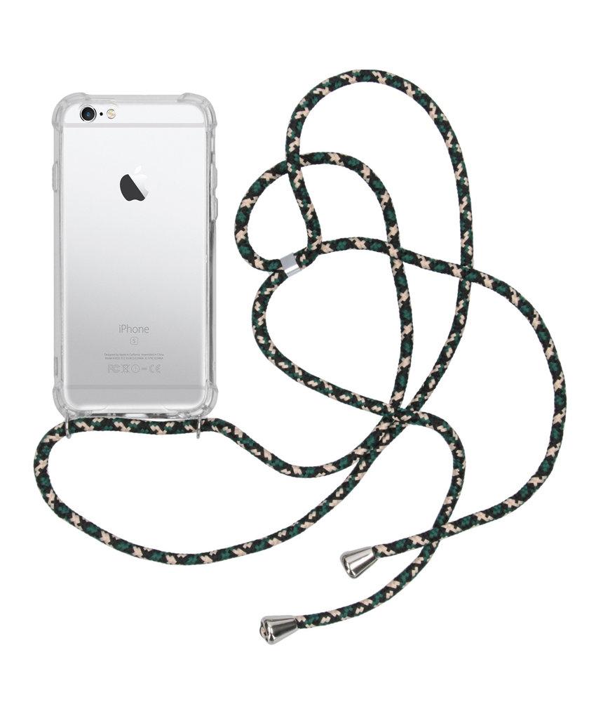iMoshion Backcover met koord iPhone 6 / 6s - Groen