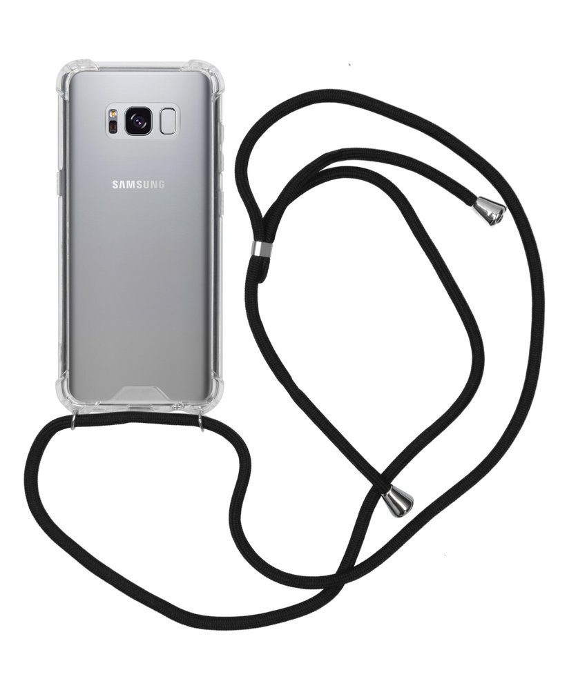 Backcover met koord Samsung Galaxy S8 - Zwart