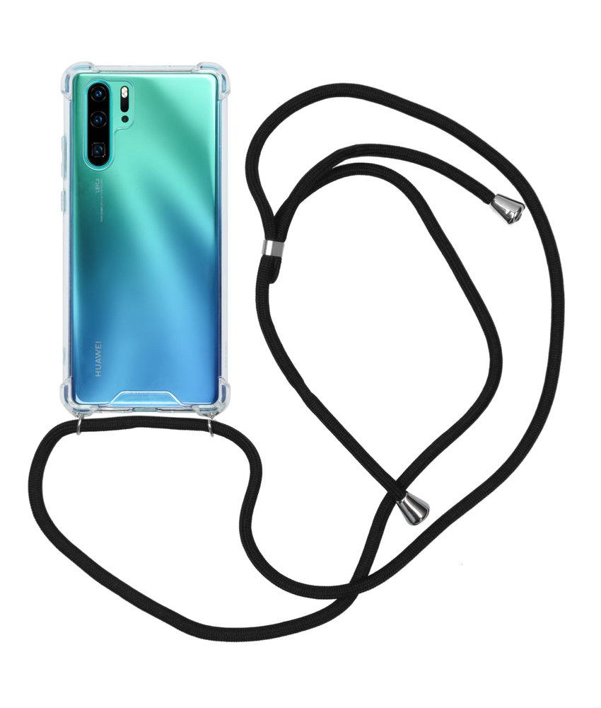 iMoshion Backcover met koord Huawei P30 Pro - Zwart