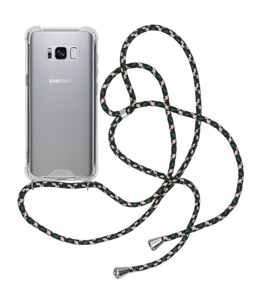 iMoshion Backcover met koord Samsung Galaxy S8 - Groen