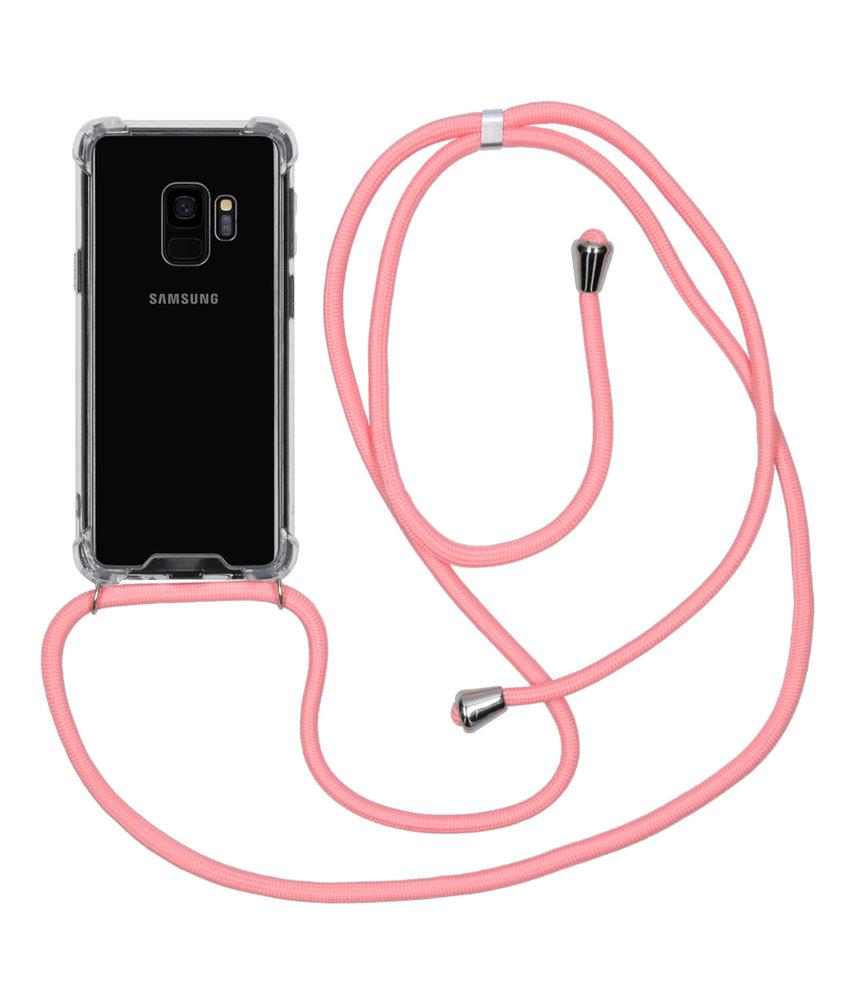 iMoshion Backcover met koord Samsung Galaxy S9 - Roze