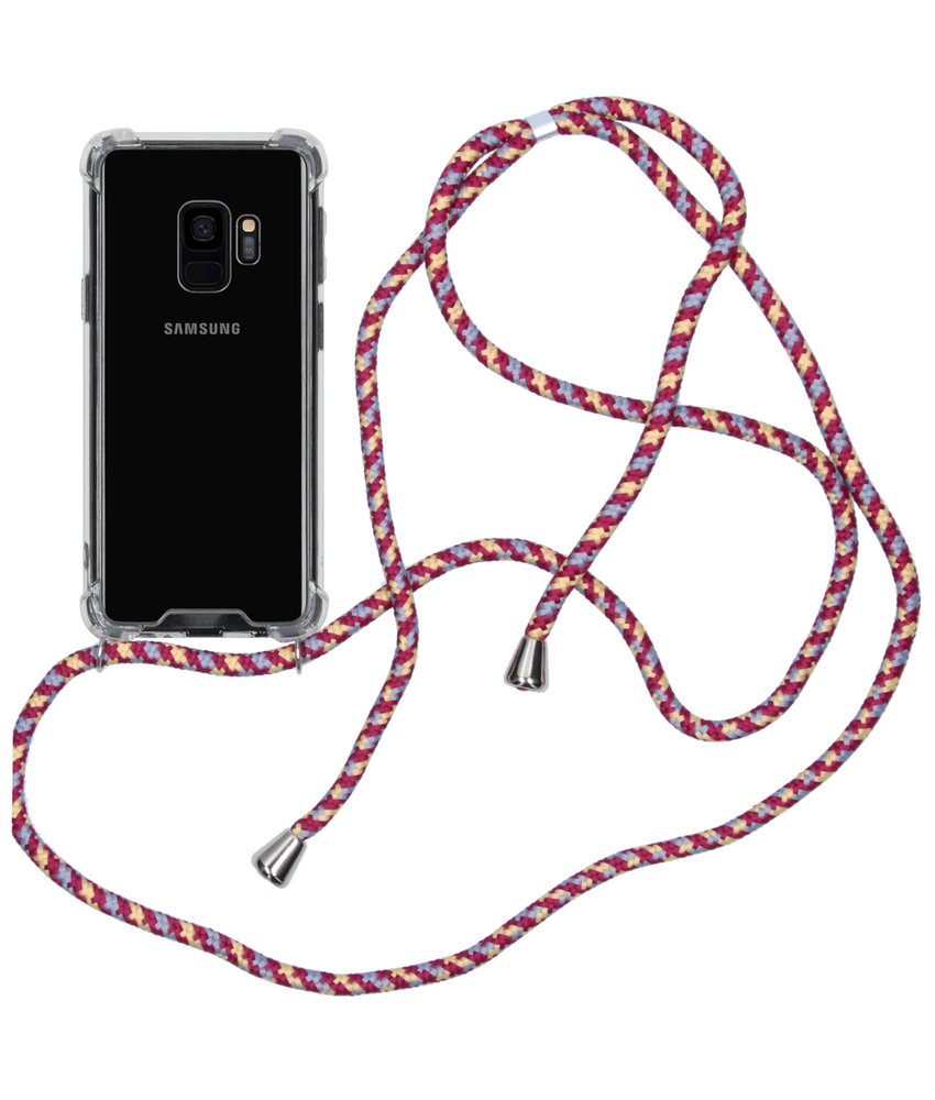 iMoshion Backcover met koord Samsung Galaxy S9 - Paars