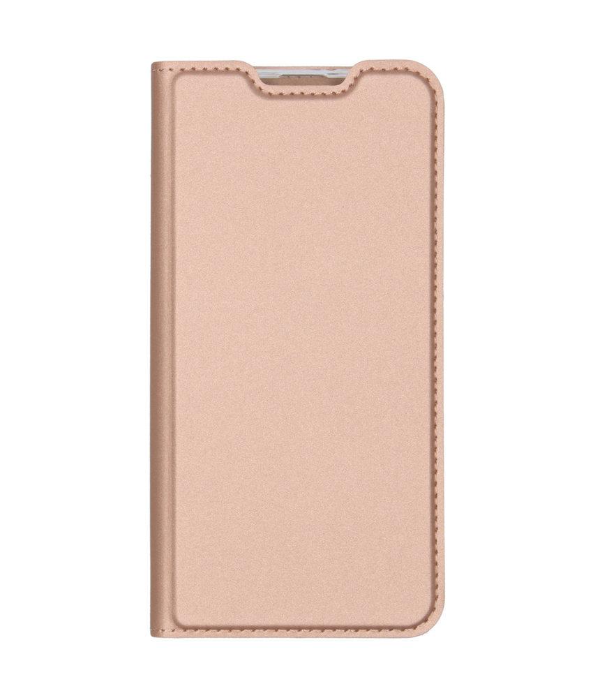 Dux Ducis Slim Softcase Booktype Samsung Galaxy A20e - Rosé Goud