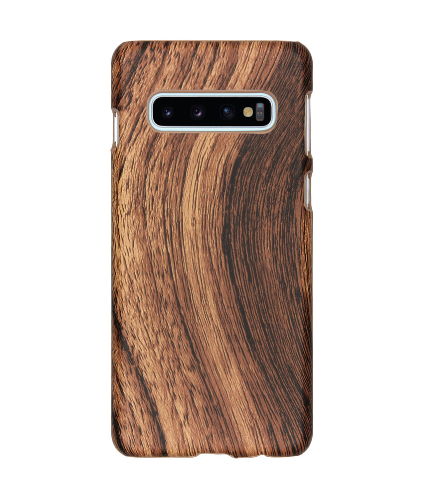 Hout Design Backcover Samsung Galaxy S10