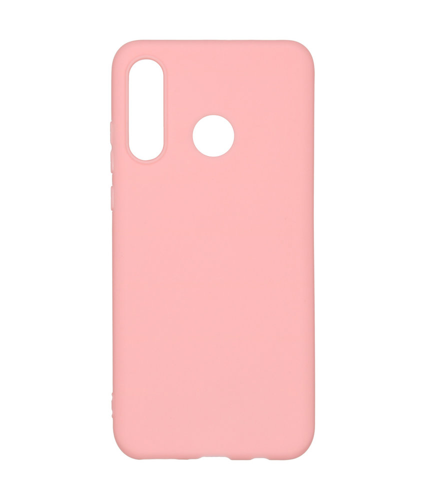 Color Backcover Huawei P30 Lite - Roze